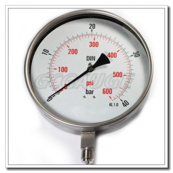stainless steel gauges
