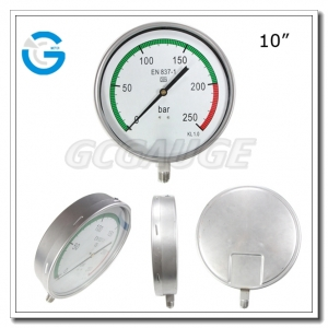 250mm pressure gauges
