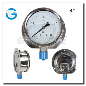 flange type pressure gauges