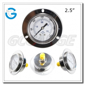 pressure gauges with front flange