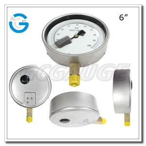 pressure test gauges