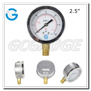 pressure gauges liquid filled