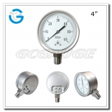 4 Capsule low all stainless steel bottom connection low pressure gauges