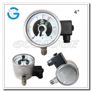 explosion proof electric contact pressure gauges