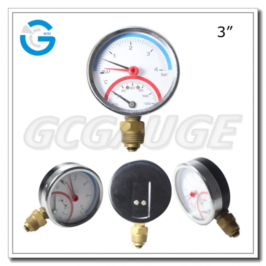 Pressure temperature combination