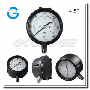 Safety Pattern Pressure Gauges