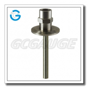 weld-in sanitary thermowells temperature sensor