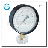 6 Black steel bottom connection precision test gauges