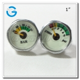 1 Chrome-plated luminous gauges