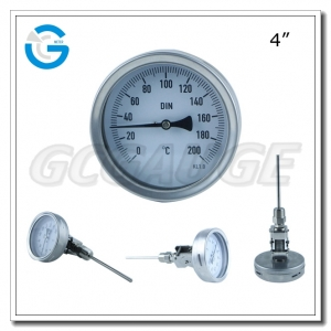 adjustable bimetallic thermometers