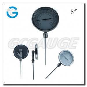 stainless steel dial thermometer