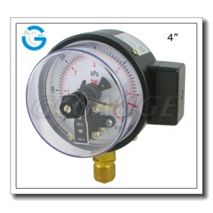 electric contact pressure meter