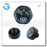 1Inch black hexagon small miniature gauges