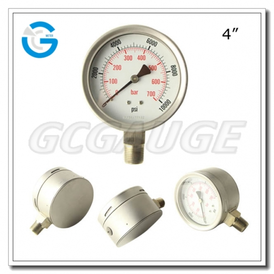 safety pattern pressure guages