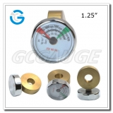 1.25Inch 32mm chrome color mini gages