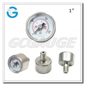 Micro pressure gauges 28mm 150PSI