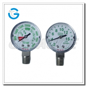 medical system pressure gauges
