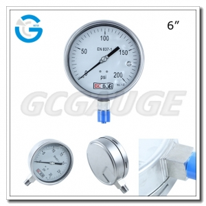 silicone filled pressure gauges