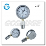 Pressure gauges manometers 100 mbar with adapter