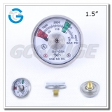 Spiral tube 1.5 inch 4000 psi mini pressure gauges