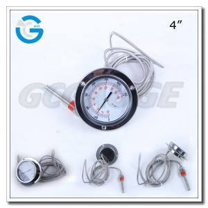 back connection capillary temperature gauge
