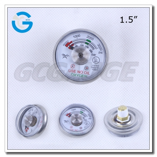 manometer for fire extinguisher